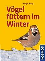 Voegel fuettern im Winter