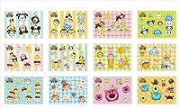 ディズニーツムツム ソフピタ BOX商品 1BOX=12個入り、全12種類