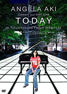 "アンジェラ・アキ Concert Tour 2007-2008 ""TODAY"" [DVD]"