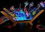 電光ホーム 光る ワインクーラー 舟形 台座付き 大型