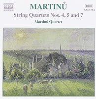 Martinu: String Quartets, Vol. 3 (Nos. 4, 5 & 7) (2003-01-21)