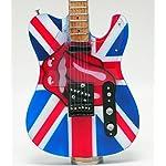 [Musical Story] E-Model ミニチュア ギター ローリング ストーンズ キース リチャーズ テレキャスター スタイル