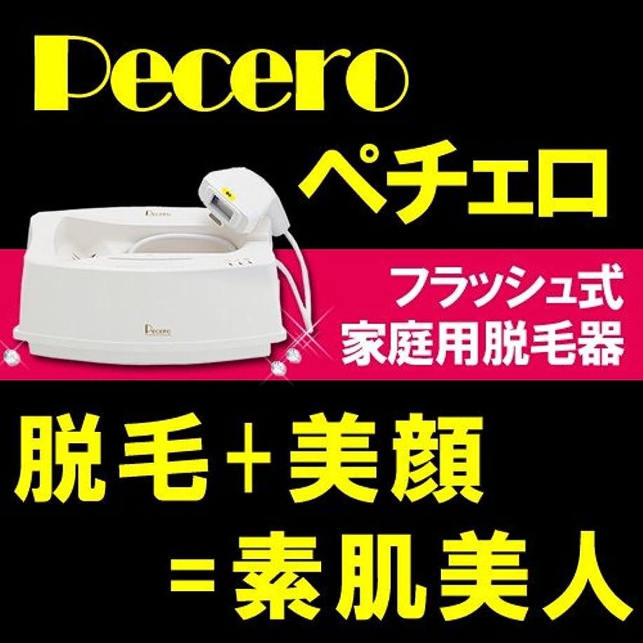 無人不機嫌一流家庭用脱毛器ペチェロ(pecero)