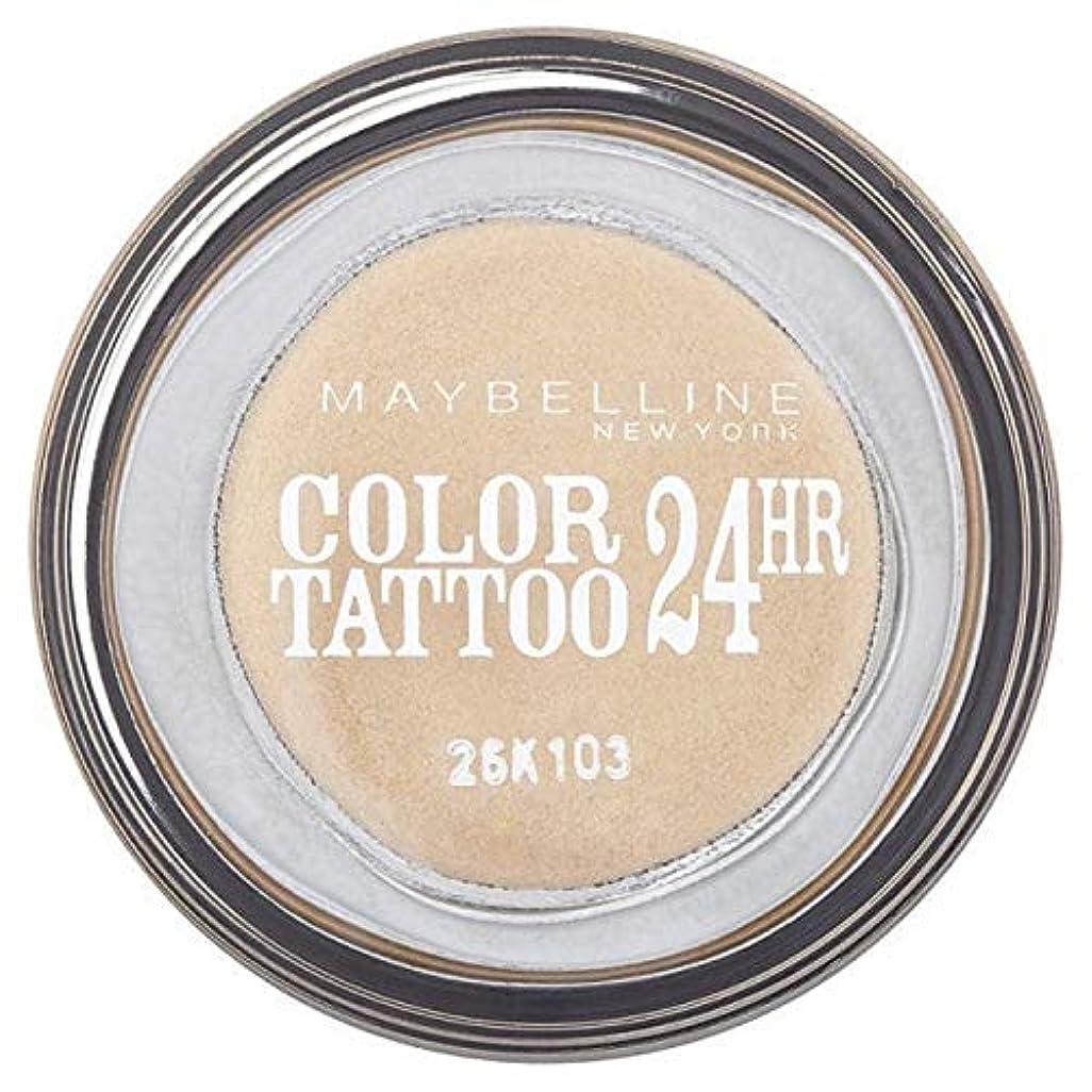 永遠にシャベル距離[Maybelline ] シングルアイシャドウ05金24時間メイベリンカラータトゥー - Maybelline Color Tattoo 24Hr Single Eyeshadow 05 Gold [並行輸入品]
