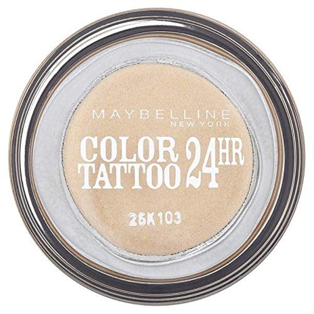 マットレス持っている上陸[Maybelline ] シングルアイシャドウ05金24時間メイベリンカラータトゥー - Maybelline Color Tattoo 24Hr Single Eyeshadow 05 Gold [並行輸入品]