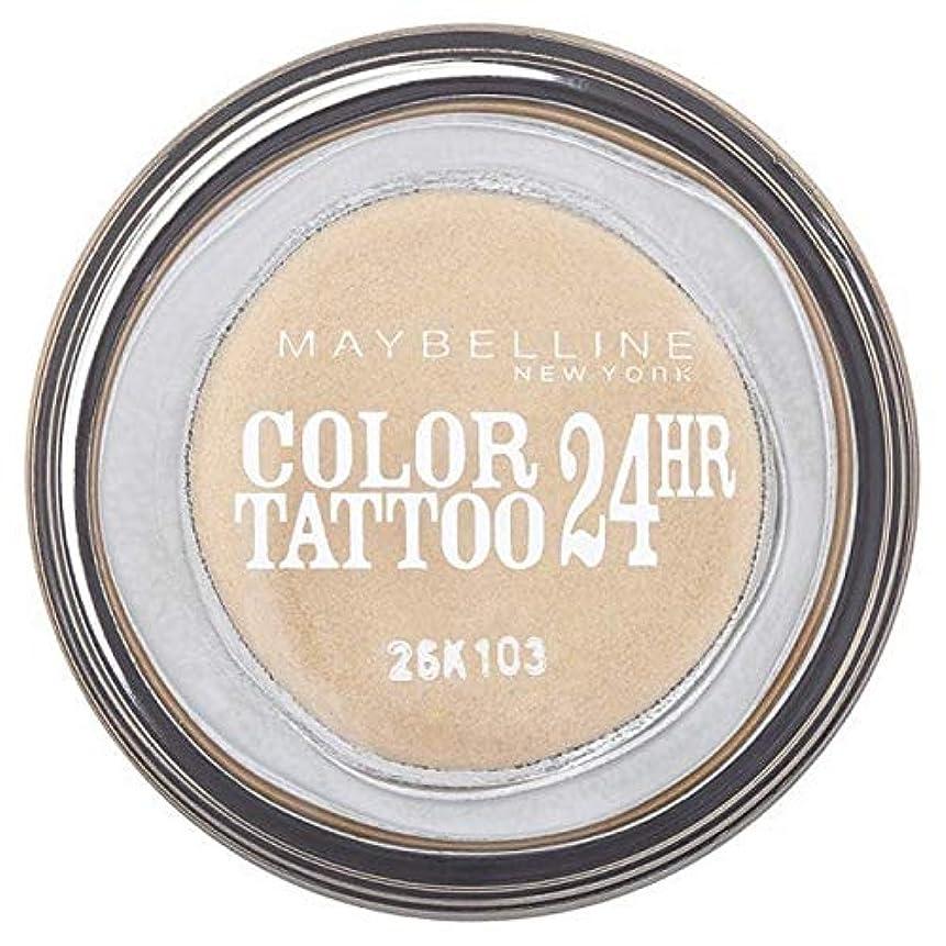 宿題をする幾何学振る舞い[Maybelline ] シングルアイシャドウ05金24時間メイベリンカラータトゥー - Maybelline Color Tattoo 24Hr Single Eyeshadow 05 Gold [並行輸入品]