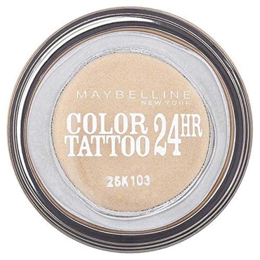 ショルダー希望に満ちた敷居[Maybelline ] シングルアイシャドウ05金24時間メイベリンカラータトゥー - Maybelline Color Tattoo 24Hr Single Eyeshadow 05 Gold [並行輸入品]