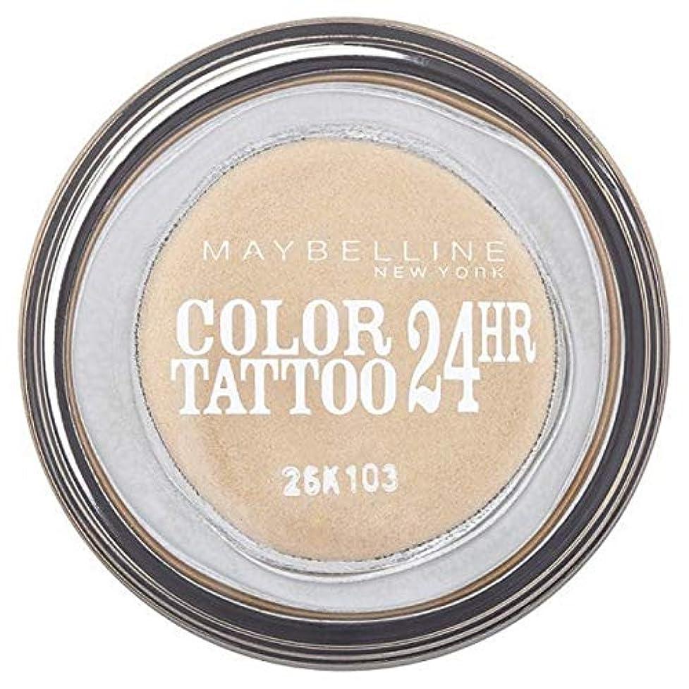 デッドロックチキン征服する[Maybelline ] シングルアイシャドウ05金24時間メイベリンカラータトゥー - Maybelline Color Tattoo 24Hr Single Eyeshadow 05 Gold [並行輸入品]
