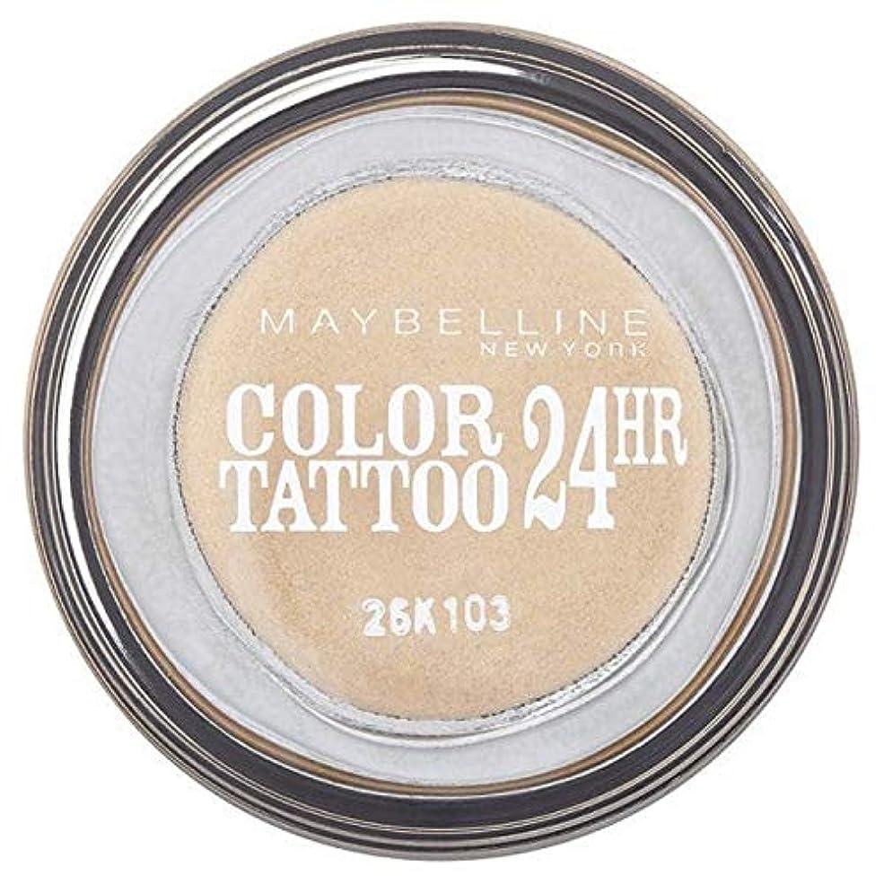レザー北米余剰[Maybelline ] シングルアイシャドウ05金24時間メイベリンカラータトゥー - Maybelline Color Tattoo 24Hr Single Eyeshadow 05 Gold [並行輸入品]