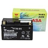 【Amazon.co.jp限定】 TAIWAN YUASA 【台湾ユアサ】正規品 AGM-バイク用バッテリー クロス付 YT7B-BS