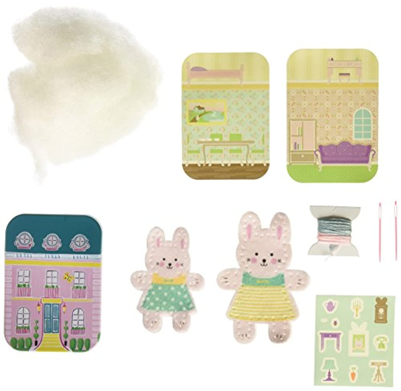 My Studio Girl Tiny Town Buddies Bunny Building Kit [並行輸入品]