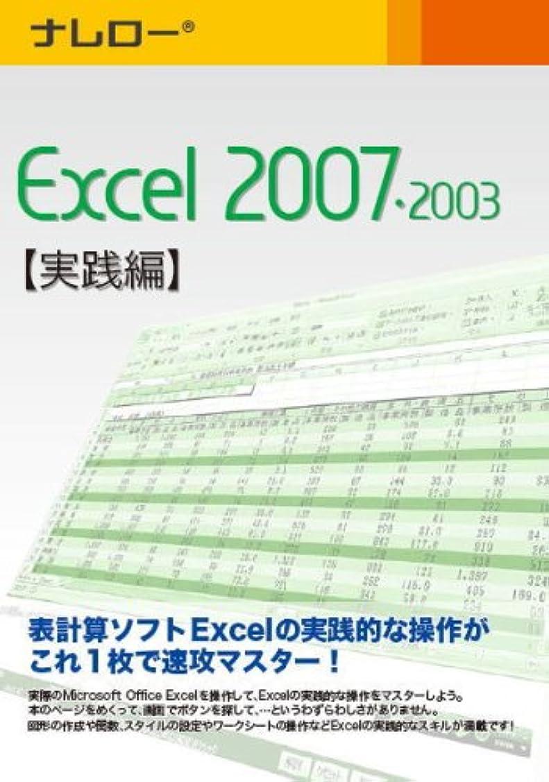 確立レコーダー刺繍ナレロー Excel 2007?2003 【実践編】