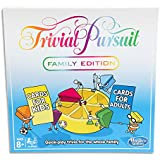 Trivial Pursuit - Family Edition - Quick Play Trivia for The Whole Family - 2+ Players - Board Games & Kids Toys - Ages 8+