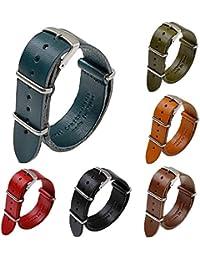 モバイルプラス 腕時計 ベルト 20mm 時計ベルト シルバー 栃木レザー 国産 本革 a66178748 ネイビー