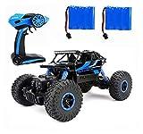 ラジコンカー RCカー 2.4GHZ 4WD オフロードリモコンカー ラジコンオフロード 四駆 電動オフロードバギー バギー 男の子向け 乗り越え抜群 子供向け おもちゃ 贈り物