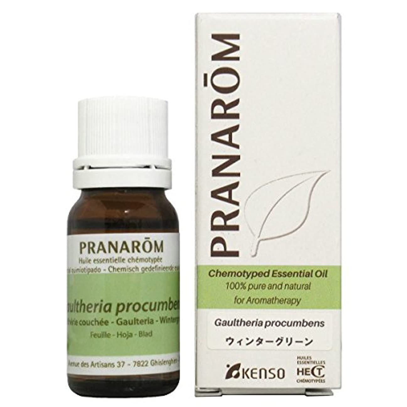 運営国籍自分プラナロム ウィンターグリーン 10ml (PRANAROM ケモタイプ精油)