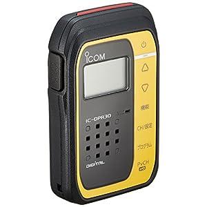 アイコム デジタル簡易無線(登録局)1Wタイプ メタリックイエロー IC-DPR30