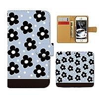 (ティアラ) Tiara HUAWEI P20 lite ANE-LX2J スマホケース 手帳型 lady 手帳ケース カバー フラワー ドット 女子力 F0012030102603