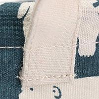 SONONIA コットン製 折り畳み式 防水 洗濯物入れ バッグ かご ランドリーボックス ビンストレージ 全4種類 選べる - 1