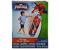 mozllyマルチパック–Marvel Comics Spider Man 36インチTall Inflatable Bop Punching Bag ( Pack of 3)