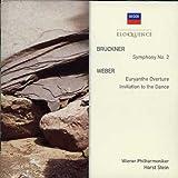 Bruckner: Sym No 2 / Weber: Euryanthe Overture