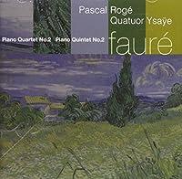 Faure;Pno Qtet 2/Pno Quintet 2