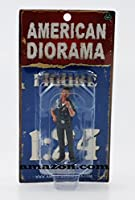 American Diorama 23839 Police Officer Jake Figure for 1-24 Scale Models by American Diorama