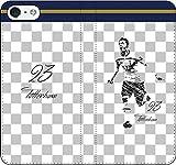iPhone/Xperia/Galaxy/他機種選択可:サッカー/グラフィティ/へのへのもへじタッチ手帳ケース(デザイン:トッテナム/23番_01) 03 iPhone6/6s