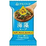 【 アマノフーズ フリーズドライ 】 The うまみ 海藻スープ 10食 [ フリーズドライ ねぎ 5g付き ]