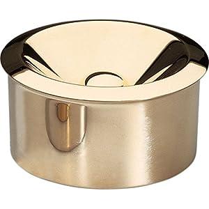 【正規輸入品】 ALESSI アレッシィ BAUHAUS 90010 灰皿/真鍮製 90010/B