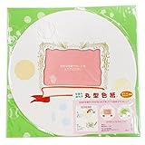 シノコマ 写真も飾れる丸型色紙 SC-SP1 ピンク