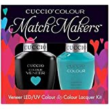 Cuccio MatchMakers Veneer & Lacquer - Muscle Beach - 0.43oz / 13ml Each