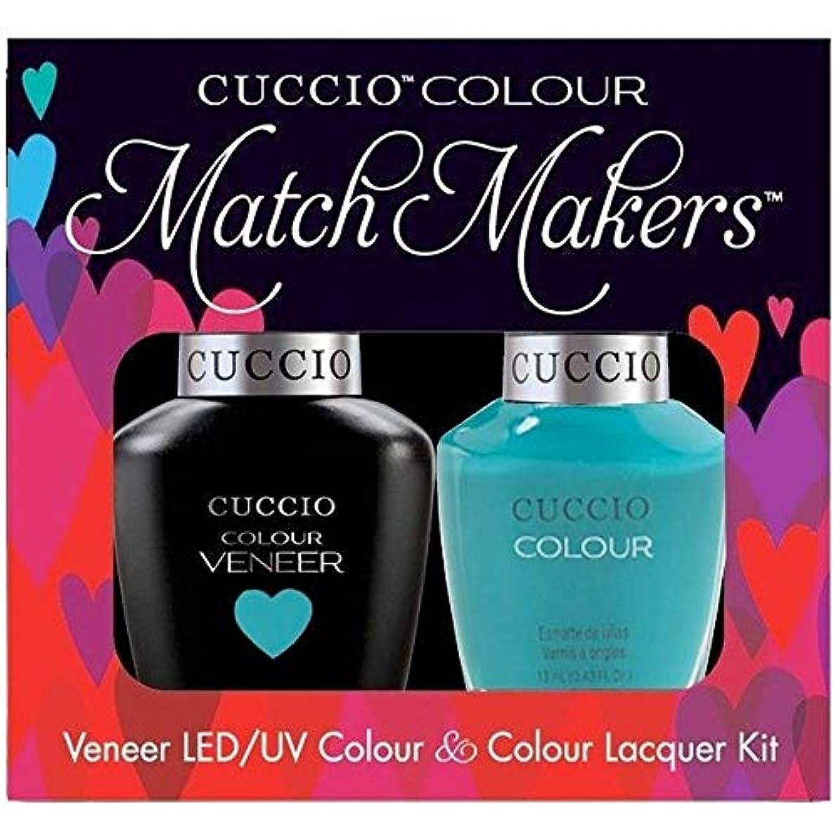 君主制アクティビティ整然としたCuccio MatchMakers Veneer & Lacquer - Muscle Beach - 0.43oz / 13ml Each