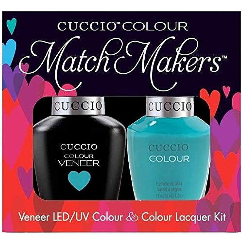 現金ヨーロッパ被害者Cuccio MatchMakers Veneer & Lacquer - Muscle Beach - 0.43oz / 13ml Each