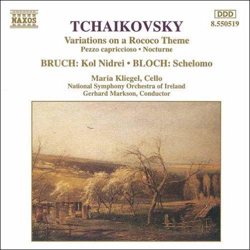 チャイコフスキー: ロココ風の主題による変奏曲イ長調Op.33/カプリッチョ風小品ロ短調Op.62/ブルッフ: コルーニドライ(ヘブライの旋律)/ブロッホ: ヘブライ狂詩曲「ソロモン」