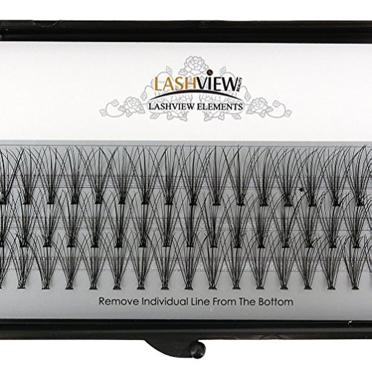イブニング一般的な市の花LASHVIEW 高品質まつげエクステ太さ0.10mm Cカール フレア セルフ用 素材 10本束12mm マツエク