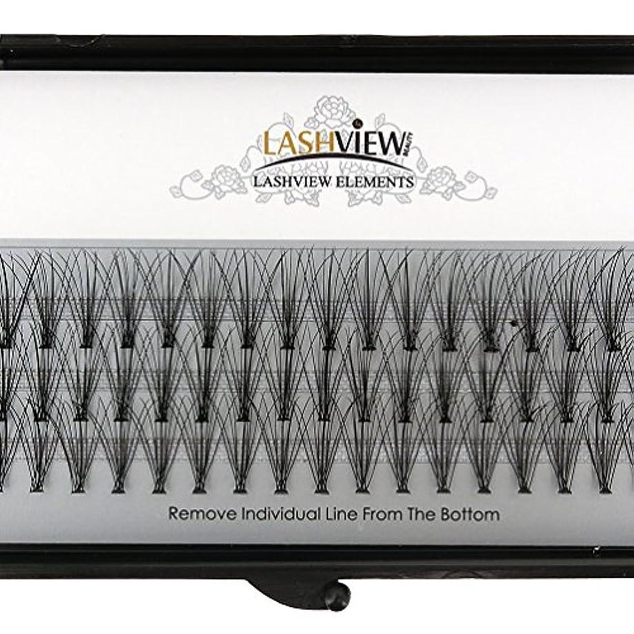 報いる過言厳LASHVIEW 高品質まつげエクステ太さ0.10mm Cカール フレア セルフ用 素材 10本束12mm マツエク