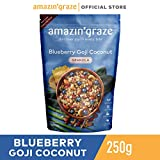 Amazin' GrazeBlueberry Goji Granola, Blueberry Goji coconut, 250g