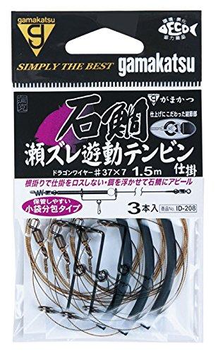 がまかつ(Gamakatsu) 石鯛瀬ズレ遊動テンビン仕掛 ID208 37. 45101-37-0-07