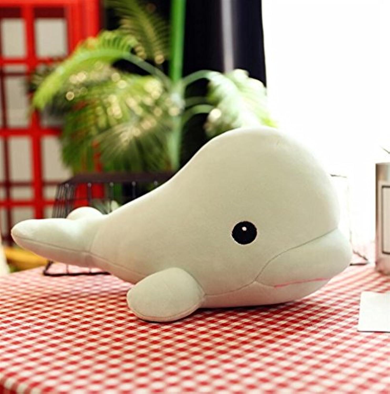 HuaQingPiJu-JP 50cmクジラのぬいぐるみぬいぐるみ動物のぬいぐるみかわいい吊り玩具のコレクション子供の誕生日ギフトGirls(Green)
