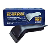 ビジコム バーコードリーダー 二アレンジCCD USB 黒 液晶読取対応 BC-BR900L-B