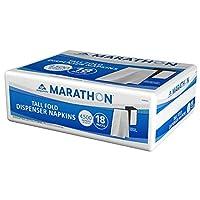 マラソンTall Foldディスペンサーナプキン( 4,500ナプキン) (パックof 6)
