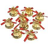 (デイリー スウィート)Daily Sweet 【9個入り】クリスマス飾り ベル リボン付 ツリー飾り 装飾グッズ 吊り下げ 飾り