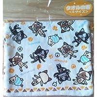 モンハン アイルー タオル巾着 Sサイズ 16×18cm 綿100%