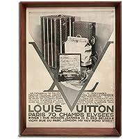 ルイヴィトン トランク 1930年代 ビンテージ広告 ポスター アートフレーム 額付