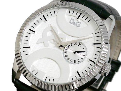 [ディーアンドジー]D&G 腕時計 TWIN TIP ツインチップ シルバー×ホワイト×ブラック DW0695 メンズ [並行輸入品]