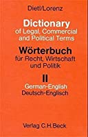 Dictionary of Legal, Commercial and Political Terms