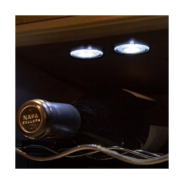 ワインセラー 24本 2ドア タッチパネル 上...の紹介画像4