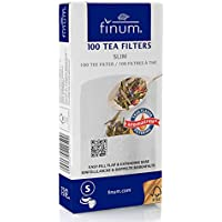 Finum Tea Filters Small English Green Herbal Hot Fix To Rim Of Pot/Kettle 100Pc