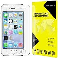 JJPRIME – 2 pcsパックのIPHONE 5G/IPHONE 5S用強化ガラス・スクリーン・プロテクター(クリア)